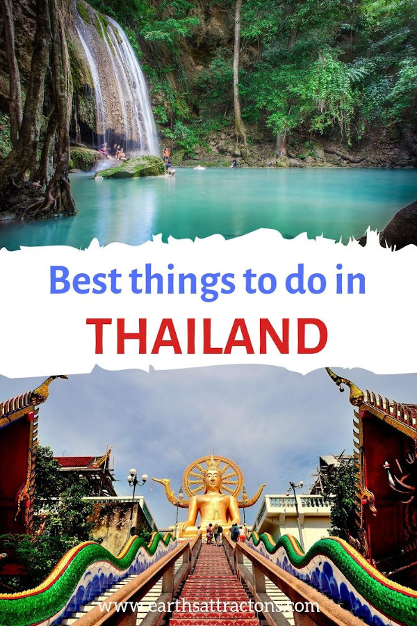 Best things to do in Thailand. Discover Thailand attractions, and useful tips for Thailand #thailand #travel #asia