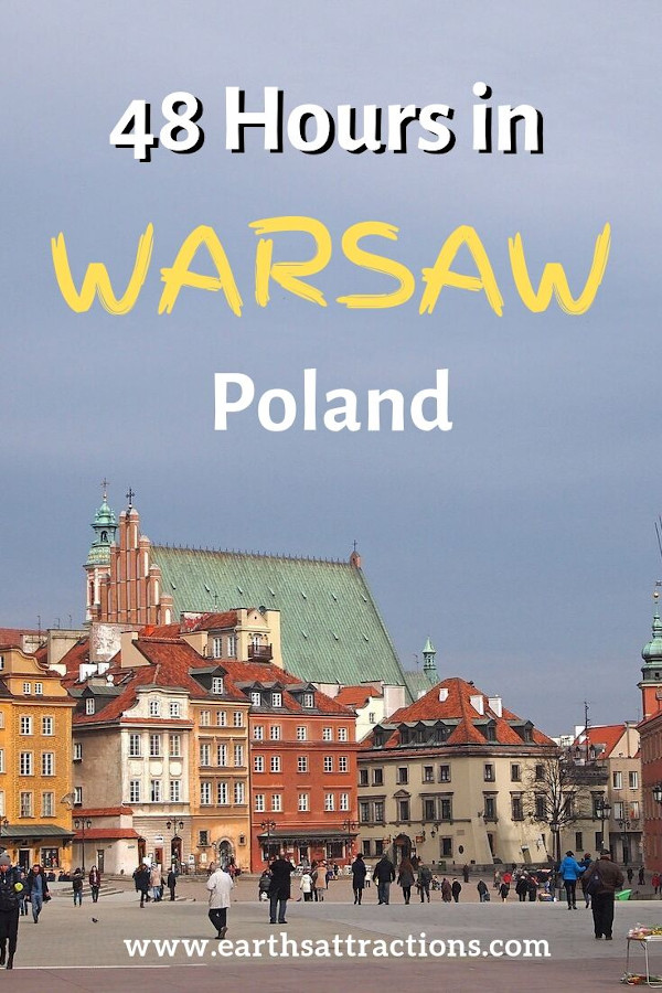 How to spend 48 hours in Warsaw, Poland - the best 2-day Warsaw itinerary with the best places to visit in Warsaw #warsaw#poland #travel #europe #traveleurope