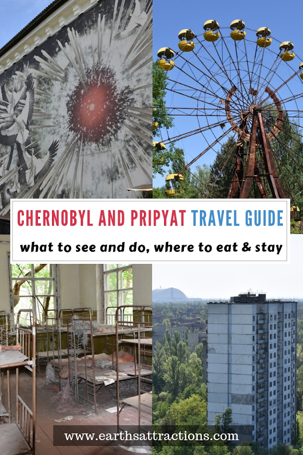Chernobyl and Pripyat travel guide. All you need to know before visiting Chernobyl today and what to do in the Chernobyl Exclusion Zone. #Chernobyl #Chernobyldisaster #ChernobylHBO #ukraine #travel #pripyat