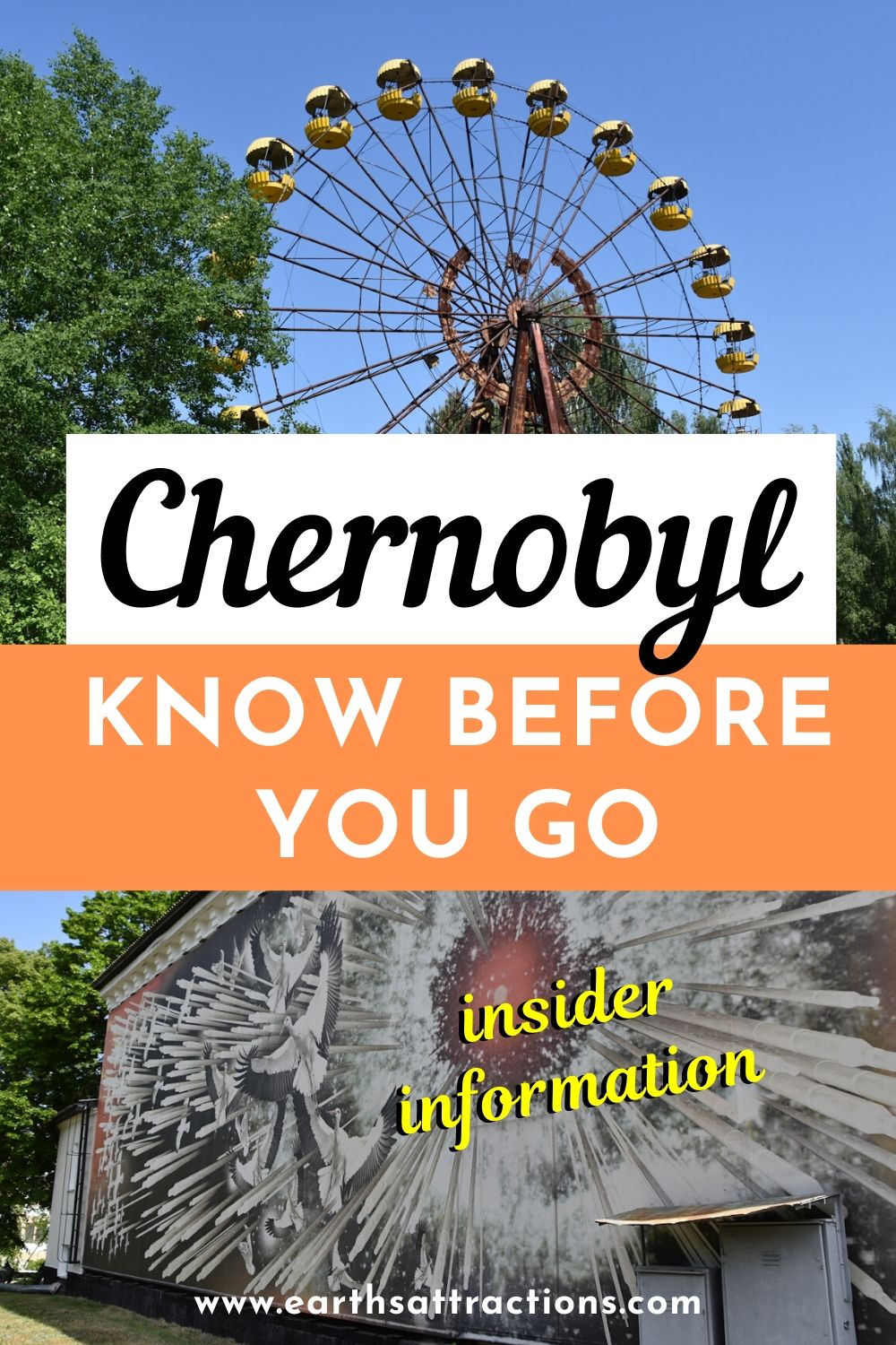 Thinking to visit Chernobyl, Ukraine? Here's everything you need to know before visiting Chernobyl today. Is Chernobyl safe? What to do in Chernobyl? The answer to these and more questions are in this Chernobyl guide #Chernobyl #Chernobyldisaster #ChernobylHBO #ukraine #travel #radiations
