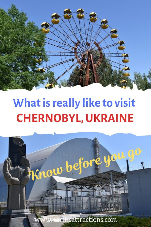 What is really like to visit the Chernobyl Exclusion Zone - 15 things to see in Chernobyl and Pripyat, Ukraine #Chernobyl #Chernobyldisaster #ChernobylHBO #ukraine #travel #pripyat
