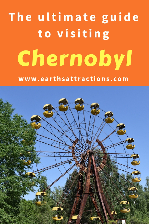 The ultimate guide to visiting Chernobyl today. Is Chernobyl safe to visit + what to include on a 2-day tour of Chernobyl, Ukraine #Chernobyl #Chernobyldisaster #ChernobylHBO #ukraine #travel #pripyat
