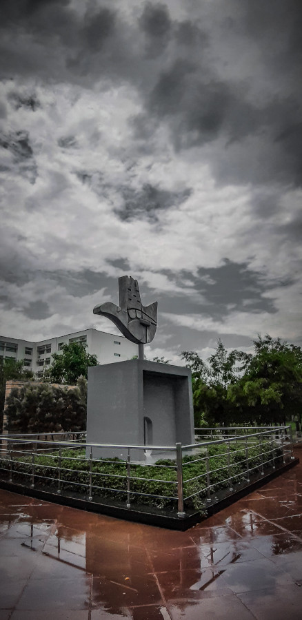 Open Hand Monument. Best things to do in Chandigarh, India