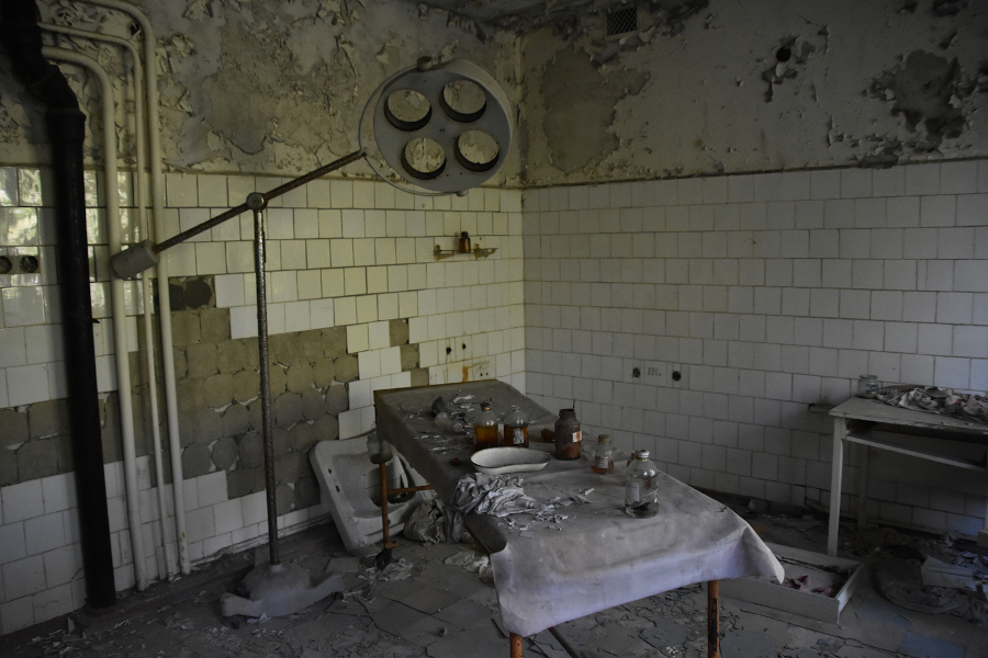 Pripyat Hospital No 126. How to visit Chernobyl and Pripyat - everything you need to know before you go to Chernobyl today