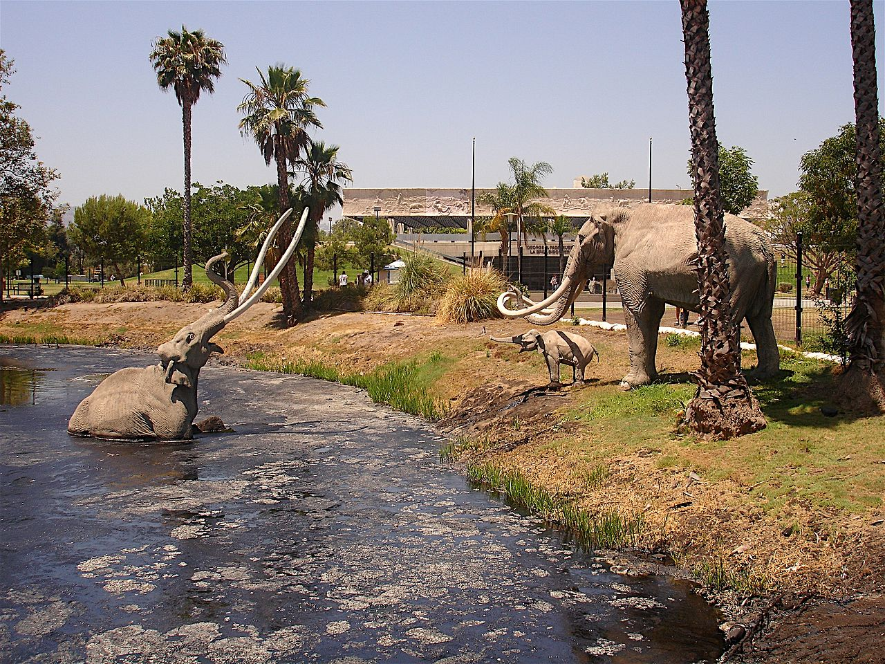 La Brea Tar Pits, Los Angeles, USA. Discover the top natural attractions near Los Angeles, USA