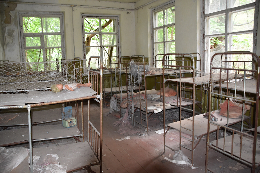 Chernobyl Orphanage. Places to visit in Chernobyl exclusion zone