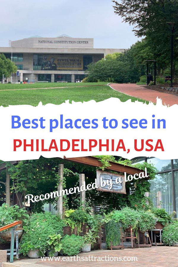 The best places to see in Philadelphia. Add these 26 Philadelphia attractions on your Philadelphia itinerary to make the most of your visit here. #usa #philadelphia #philadelphiatravel #travel #philly