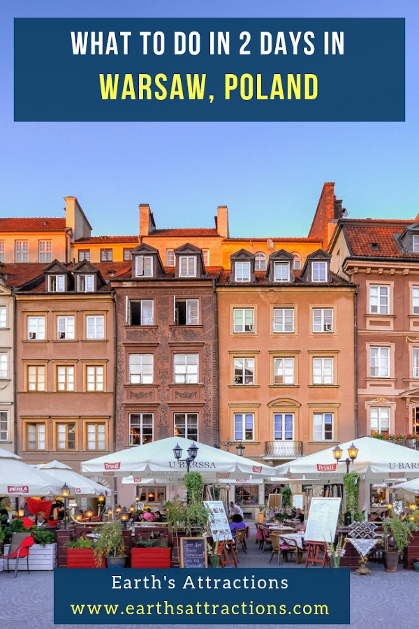What to do in 2 days in Warsaw Poland. Discover the best things to do in Warsaw in 2 days #warsaw#poland #travel #europe #traveleurope