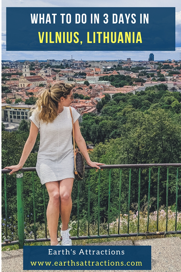 What to do in 3 days in Vilnius: readh this article to discover th ebest things to do in Vilnius in 3 days: the top Vilnius attractions, what to eat, Vilnius hotels and useful Vilnius travel tips for your trip to Vilnius, Lithuania. #vilnius #lithuania #travel #travelguide #travelitinerary #europe
