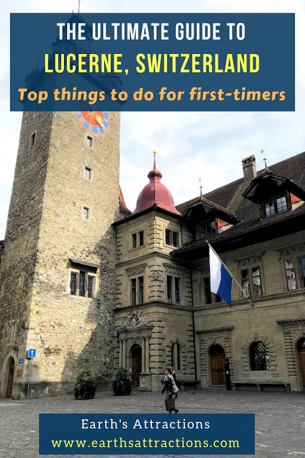 The ultimate guide to Lucerne, Switzerland with the top things to do in Lucerne for first-timers. #lucerne #switzerland #travel #europe #travelgiude