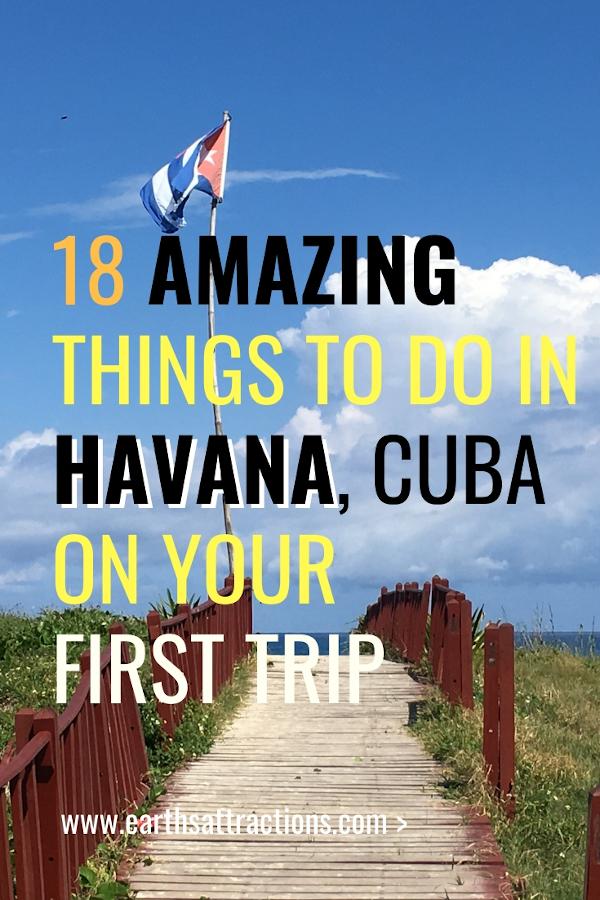18 Amazing things to do in Havana, Cuba - from the Old Havana plazas to off the beaten path attractions in Havana, best Havana museums, restaurants, accomodation, and havana travel tips. #havana #cuba #havanaguide #travelguide