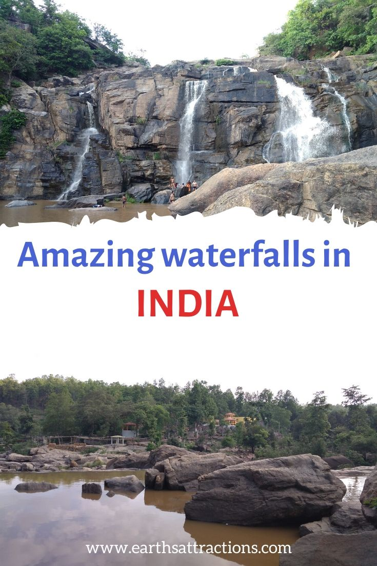 The most beautiful waterfalls in India that you have to see on your trip to India. From Jonha Falls and Jog Falls to Hogenakkal waterfalls and Hudru waterfalls - and beyond - the best waterfalls on your India holiday. #india #waterfalls #waterfall #indiawaterfall