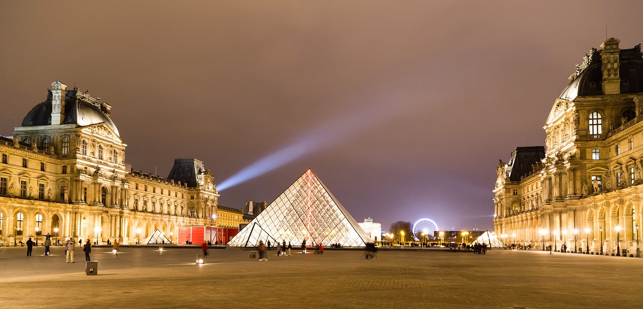 The Louvre, Paris. 22 practical Paris travel tips for your first time in Paris