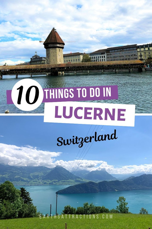 10 Amazing things to do in Lucerne, Stwitzerland. If you plan a Lucerne trip, use these recommendations to create your Lucerne itinerary. Discover the top Lucerne restaurants, the best accommodation in Lucerne, top Lucerne tourist attractions, off the beaten path things to do in Lucerne from this guide! #lucerne #switzerland #travel #europe #travelgiude