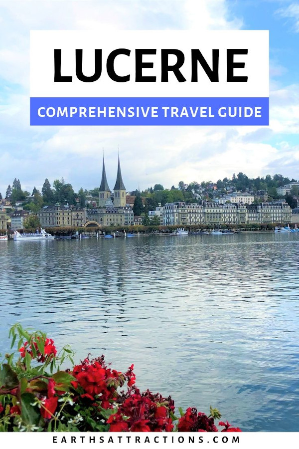 Your comprehensive Lucerne travel guide with the best things to do in Lucerne - including Lucerne Lake, Kapellbrücke (Chapel Bridge), Lion Monument, Church of St. Leodegar, Mount Rigi, KKL Luzern, Musegg Wall, Mount Pilatus, and more. The best places to eat in Lucerne and the best places to stay in Lucerne are also included. #lucerne #switzerland #travel #europe #travelgiude