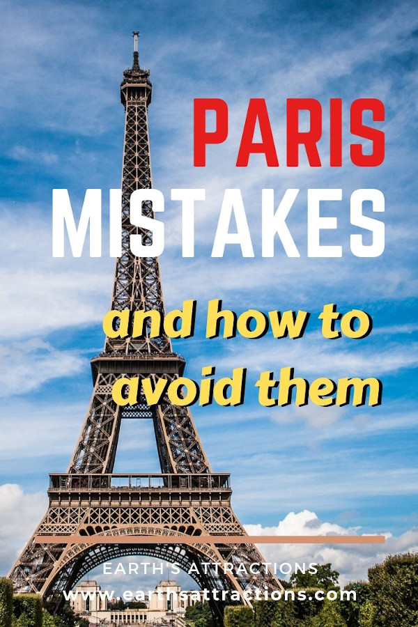 Visiting Paris for the first time? Here are the top Paris mistakes and how to avoid them. #paris #france #travel #europe