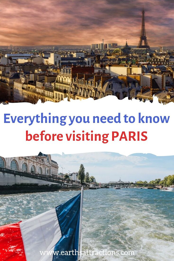 Everything you need to know before visiting Paris for the first time. Useful tips for Paris #paris #France #travel #europe #paristips #traveltips