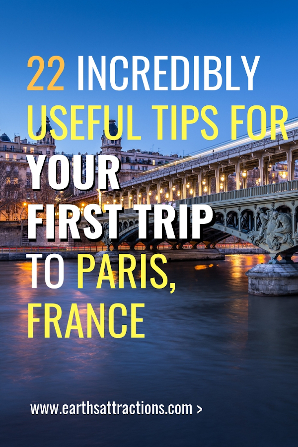 My first trip to Paris: useful Paris travel tips for a memorable and stress-free experience #paris #France #travel #europe #paristips #traveltips