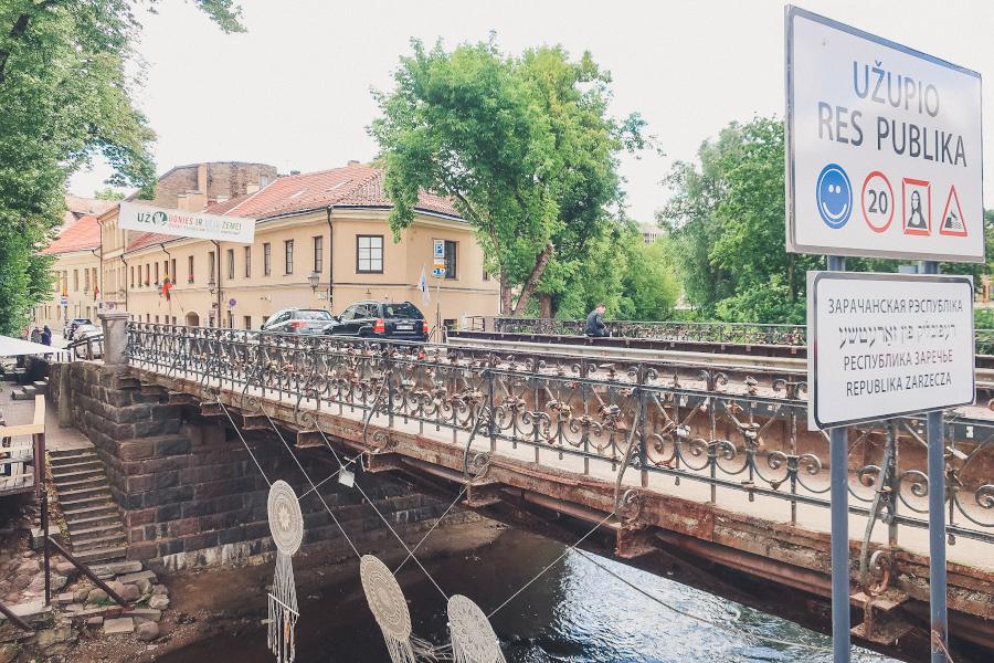 Užupis is one of the best places to see in Vilnius. Discover the top Vilnius tourist attractions and day trips from this article.