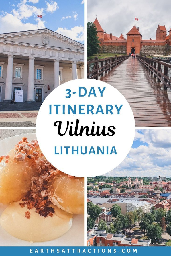 3 days in Vilnius, Lithuania: your perfect Vilnius itinerary with Vilnius attractions, food in Vilnius, useful Vilnius travel tips, and the best Vilnius hotels for you. #vilnius #lithuania #travel #travelguide #travelitinerary #europe