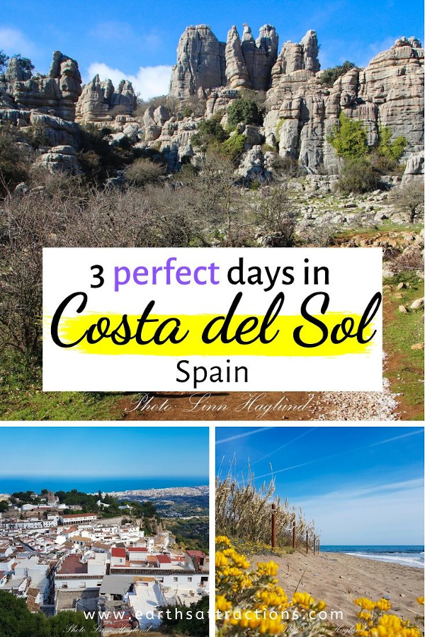How to spend 3 days in Costa del Sol, Spain. Use this local's Costa del Sol itinerary when planning your trip. This Costa del Sol guide includes the best things to do in Costa del Sol in 3 days. #costadelsol #spain #andalusia #travel #europe