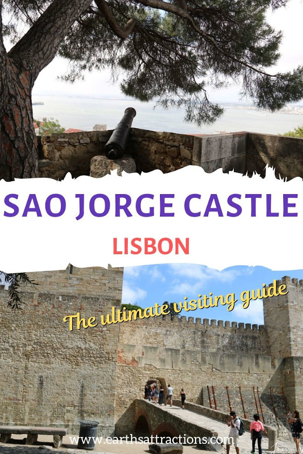 Sao Jorge Castle, Lisbon, Portugal - the ultimate guide to visiting Lisbon Castle. Find out everything you need to know to have the perfect trip to Lisbon and visit to Castelor de Sao Jorge. #lisbon #portugal #castle #lisboncastle #travel #europe