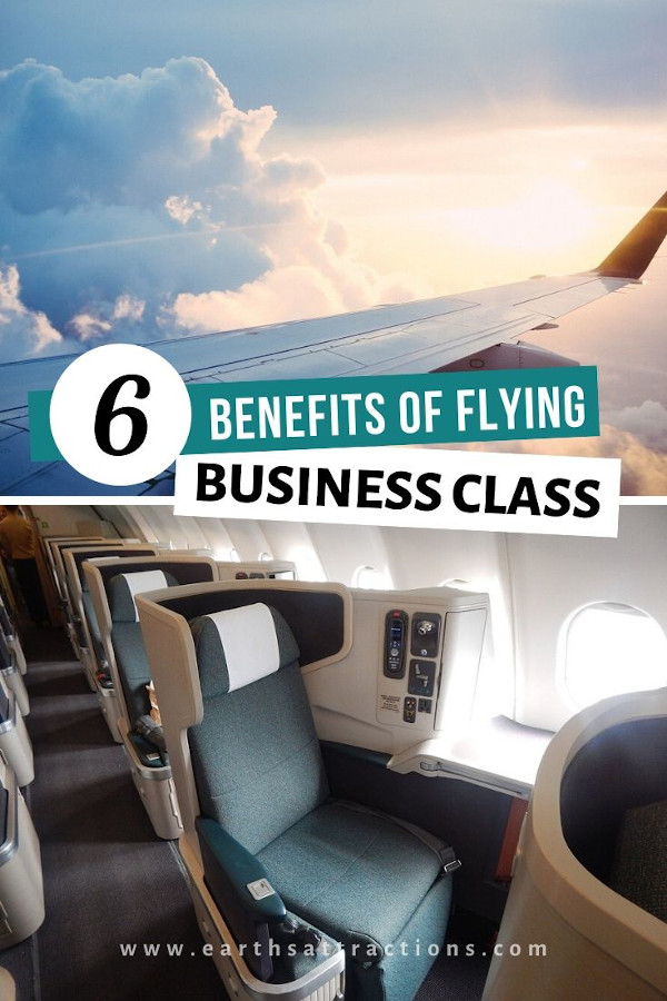 Advantages of flying first class . Discover the benefits of flying business class