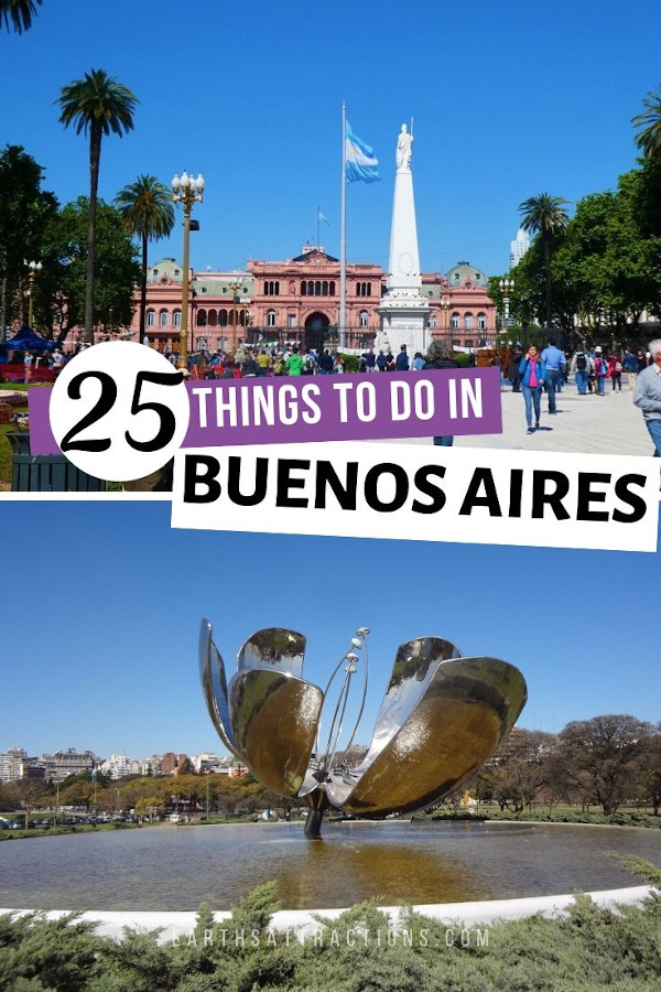Planning to visit Buenos Aires Argentina? Here is your ultimate Buenos Aires guide with 25 best things to do in Buenos Aires - including off the beaten path things to see and do -, where to eat in Buenos Aires, where to stay in Buenos Aires, what not to do in Buenos Aires, and useful tips for Buenos Aires. #buenosaires #argentina #buenosairesguide #guide #travelguide