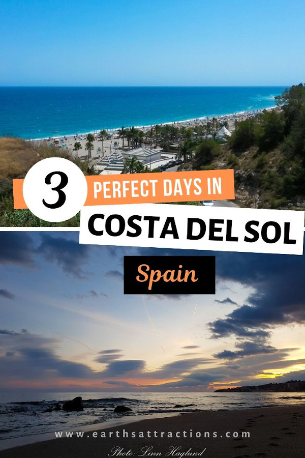 Your Costa del Sol itinerary. Discover the best Costa del Sol things to do in 3 days. Use this itinerary and have a great trip to Costa del Sol, Andalusia, Spain. #costadelsol #spain #andalusia #travel #europe