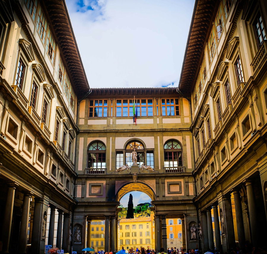 Uffizi Gallery, Florence. The best travel guide to Florence with everything to see and do, where to stay, tips, and more recommended by a local.