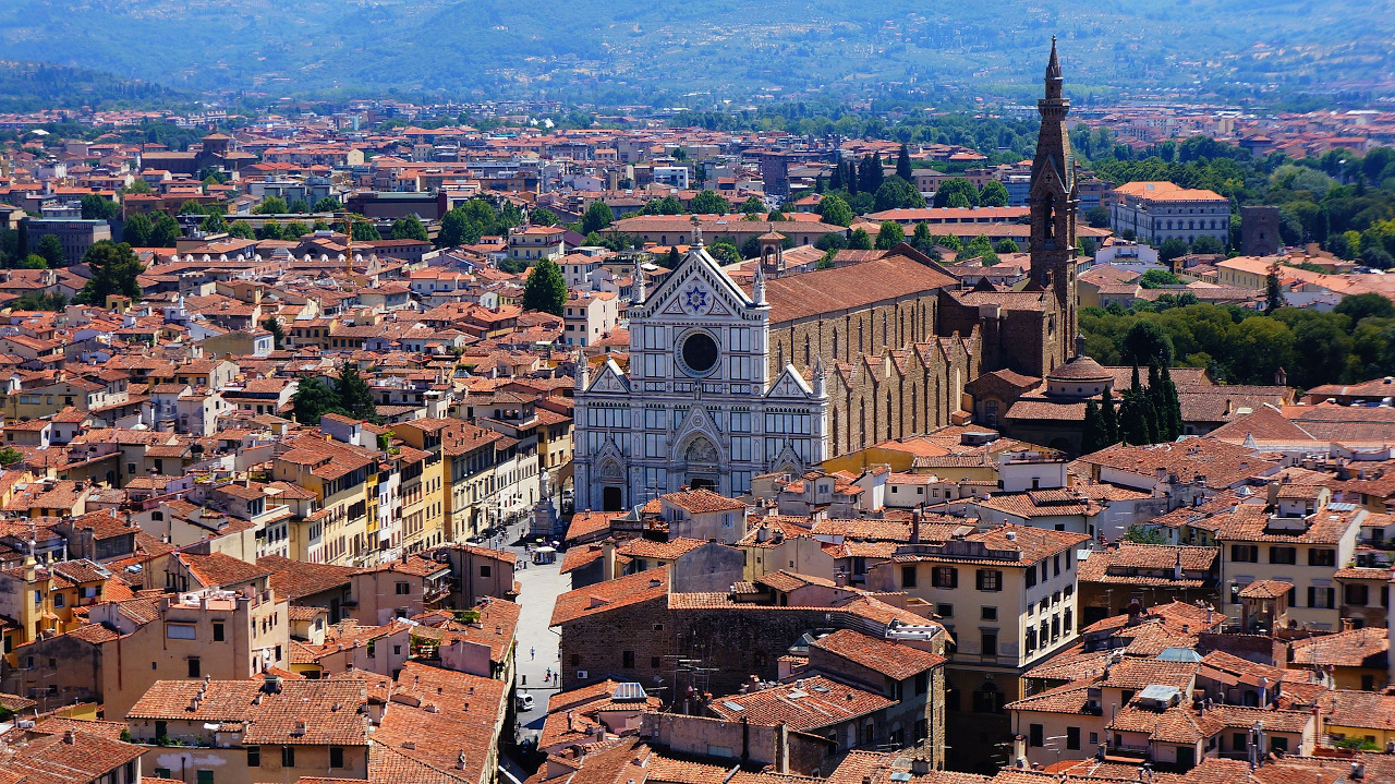 Santa Croce, Florence. Best places to visit in Florence, Italy