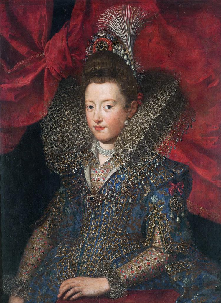 Frans Pourbus, o Jovem - Princesa Margarita Gonzaga, séc. XVI, National Fine Arts Museum, Buenos Aires