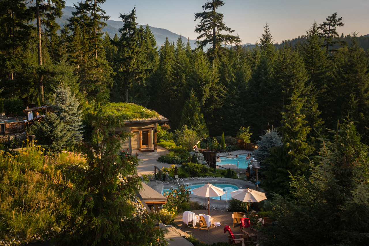 Where to relax in Whistler - Scandinave Spa. Find out the top Whistler activities for all seasons, when to visit Whistler, hotels, food, and more from this insider's guide to Whistler, BC, Canada