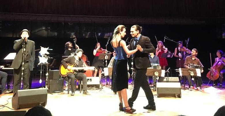 Our night of tango at the Kirchner Cultural Centre. We forgot the name of the band... Best off the beaten path things to do in Buenos Aires