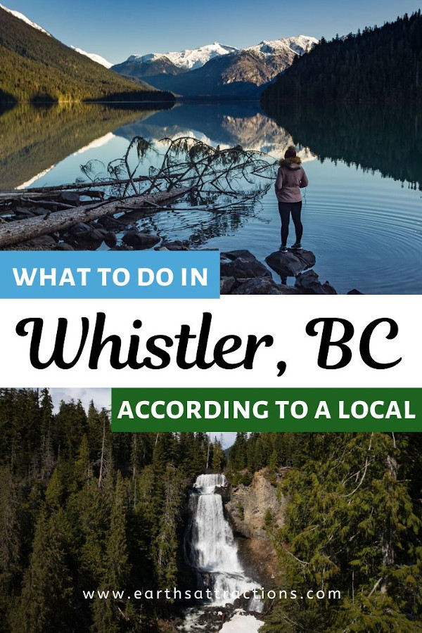 How to explore Whistler like a local! Read this Whistler guide by a local to discover the best Whistler activities for all seasons! This is the only Whistler travel guide you'll need! #whistler #bc #canada #whistlersummer #whistlerwinter #travel #travelguide #britishcolumbia