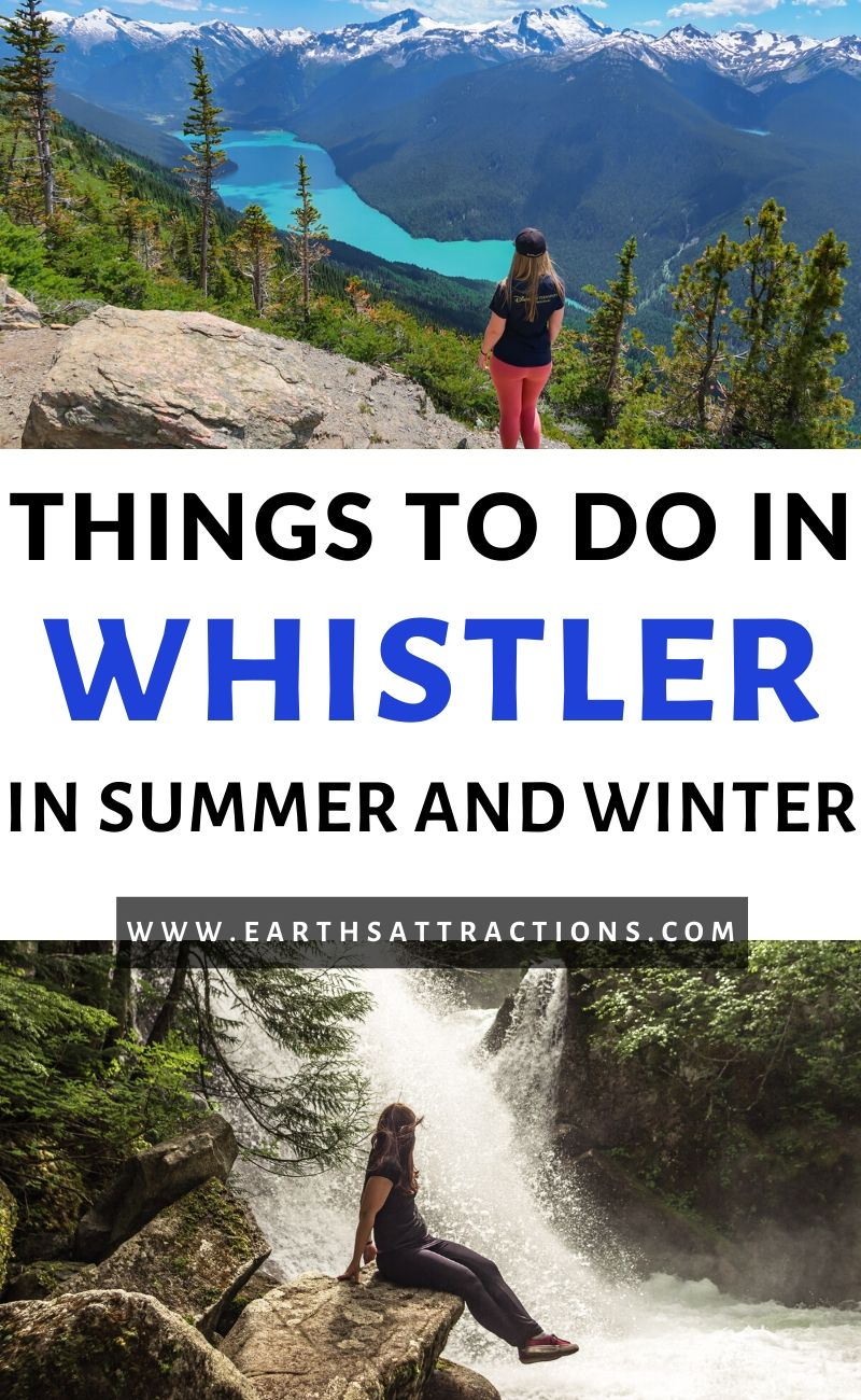 The ultimate guide to Things to do in Whistler Canada. se this article to create your Whistler bucket list and to prepare your trip to Whistler. Find out the best winter activities in Whistler, the top summer activities in Whistler, hotels, restaurants, and tips for visiting Whistler. All you need to know about Whistler in one place! #whistler #bc #canada #whistlersummer #whistlerwinter #travel #travelguide #britishcolumbia