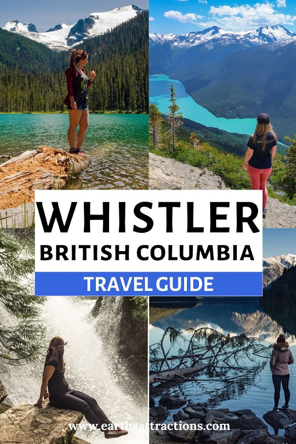 Whistler travel guide. Discover the best summer activities in Whistler, the best winter activities in Whistler, best Whistler hikes, beautiful Whistler waterfalls, seasonal events in Whistler, and more. Tips, accommodation in Whistler, where to eat in Whistler, and the best time to visit Whistler are also included in this insider's guide to Whistler. #whistler #bc #canada #whistlersummer #whistlerwinter #travel #travelguide #britishcolumbia