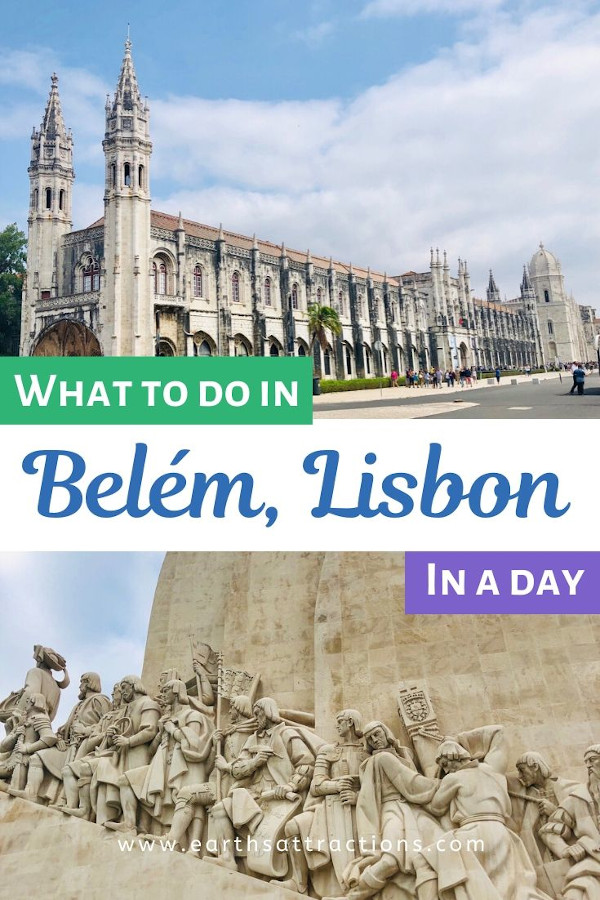 Wondering what to do in Belem, Lisbon in one day? Here are the best things to do in Belem, Lisbon. This article includes the famous Jerónimos Monastery (, Belem Tower, National Archaeology Museum, and more. These are the top places to visit in Belem, Lisbon. Create your Lisbon itinerary using this article and have a memorable Lisbon holiday! #belem #lisbon #belemlisbon #portugal #travel #europe #earthsattractions