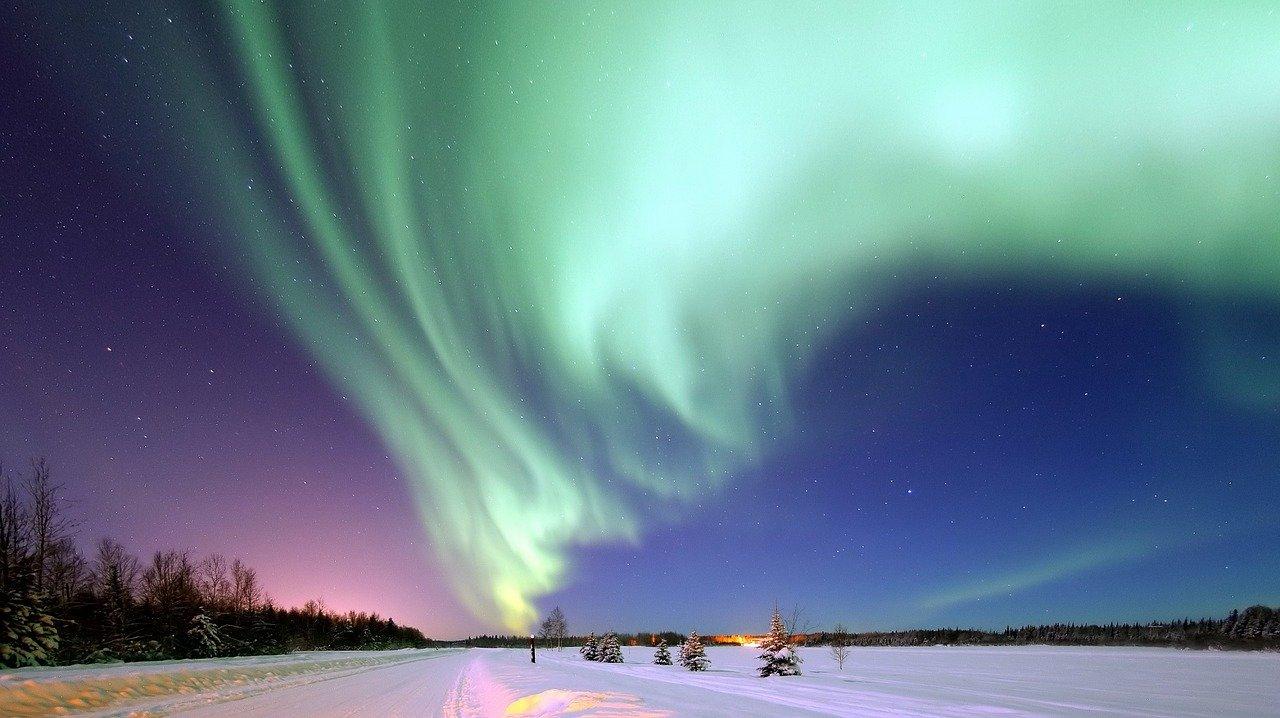 Аляска Северное сияние - Аляска Северное сияние