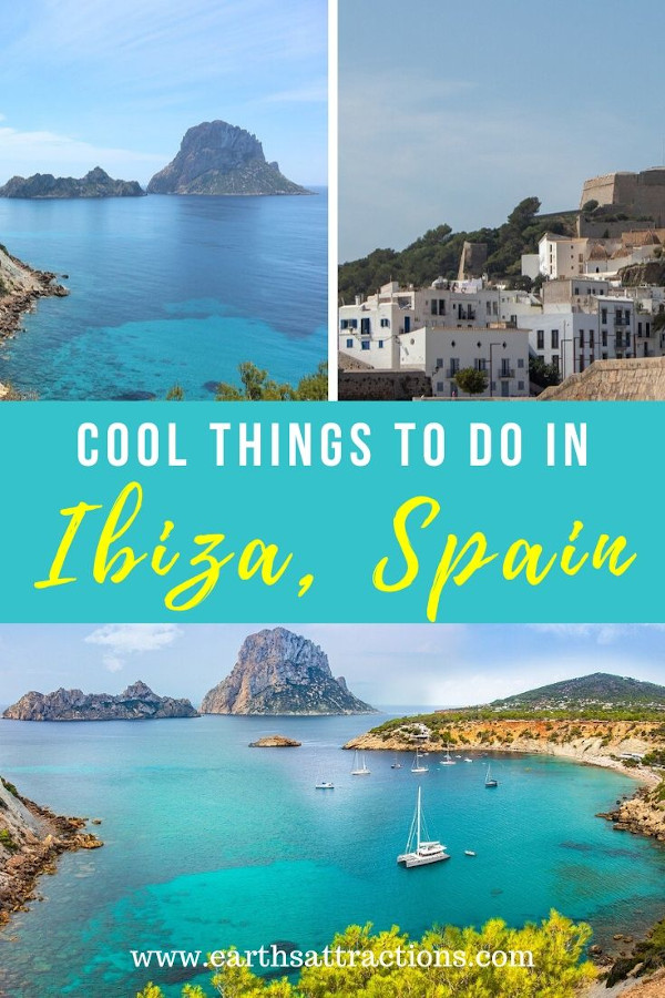 Fun things to do in Ibiza beyond partying. The best places to visit in Ibiza, Spain. Discover where to go in Ibiza from this article. Add these places to your Ibiza itinerary. #ibiza #spain #ibizathingstodo #europe #travel