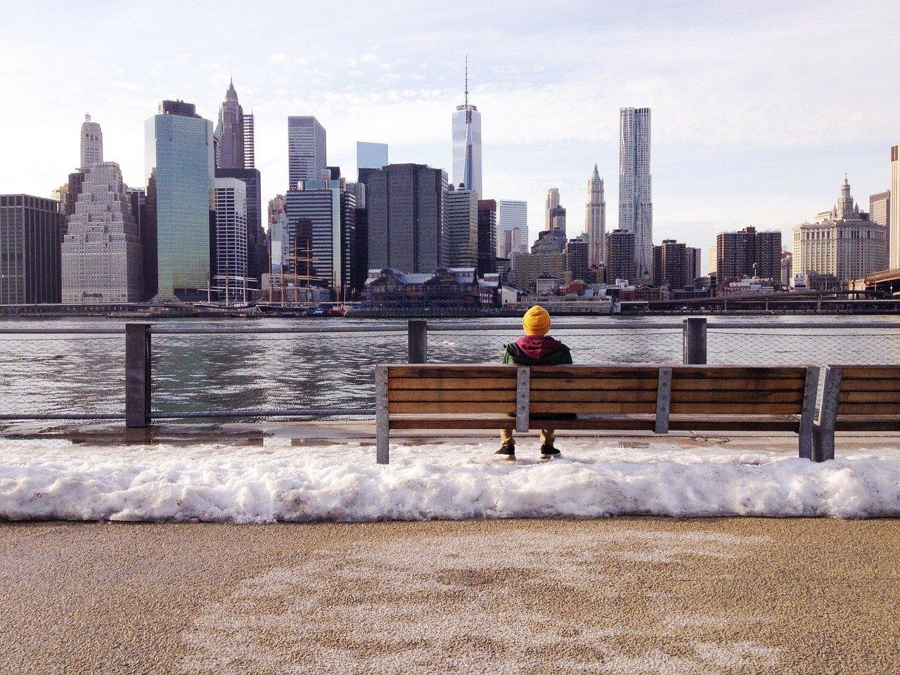 Нью-Йорк зимой