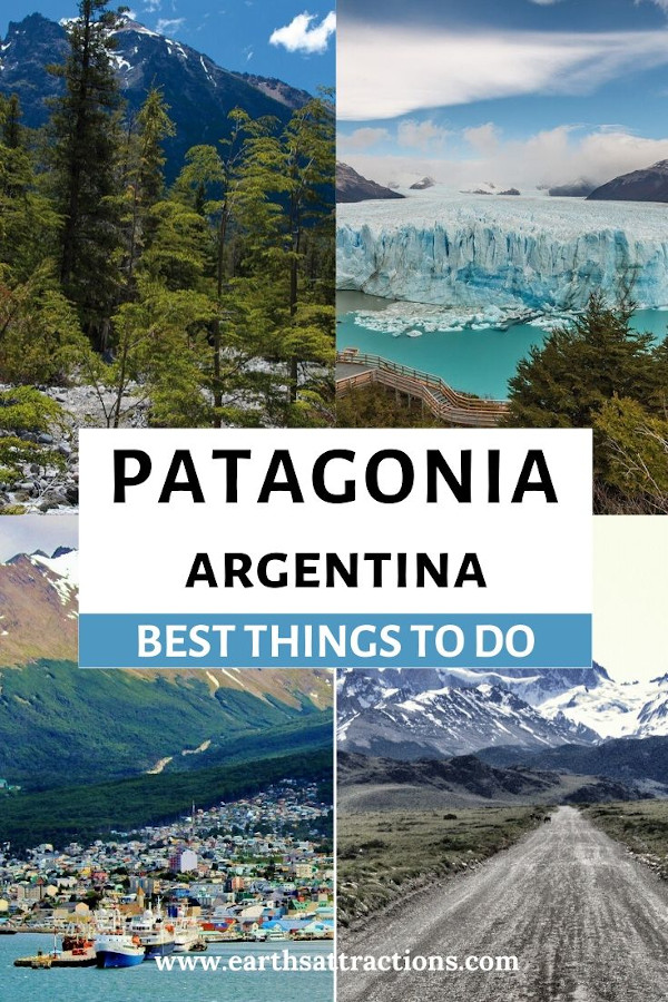 Best things to do in Patagonia, Argentina. From Perrito Moreno to Lago Nahuel Huapí in Bariloche, from Fitz Roy in El Chalten to Ushuaia and more! #patagonia #argentina #patagoniatravel #earthsattractions