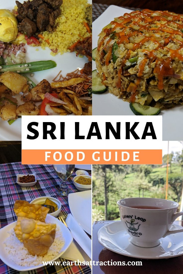 Planning to visit Sri Lanka? Discover the Sri Lankan cuisine from this Sri Lanka food tour article. The best Sri Lankan dishes to try on your holiday in Sri Lanka are included! Find out what to eat in Sri Lanka from this article. Read it now - and save this pin to your board. #earthsattractions #srilanka #srilankafood #food #asiafood #srilankadishes #srilankacuisine #asia #travel