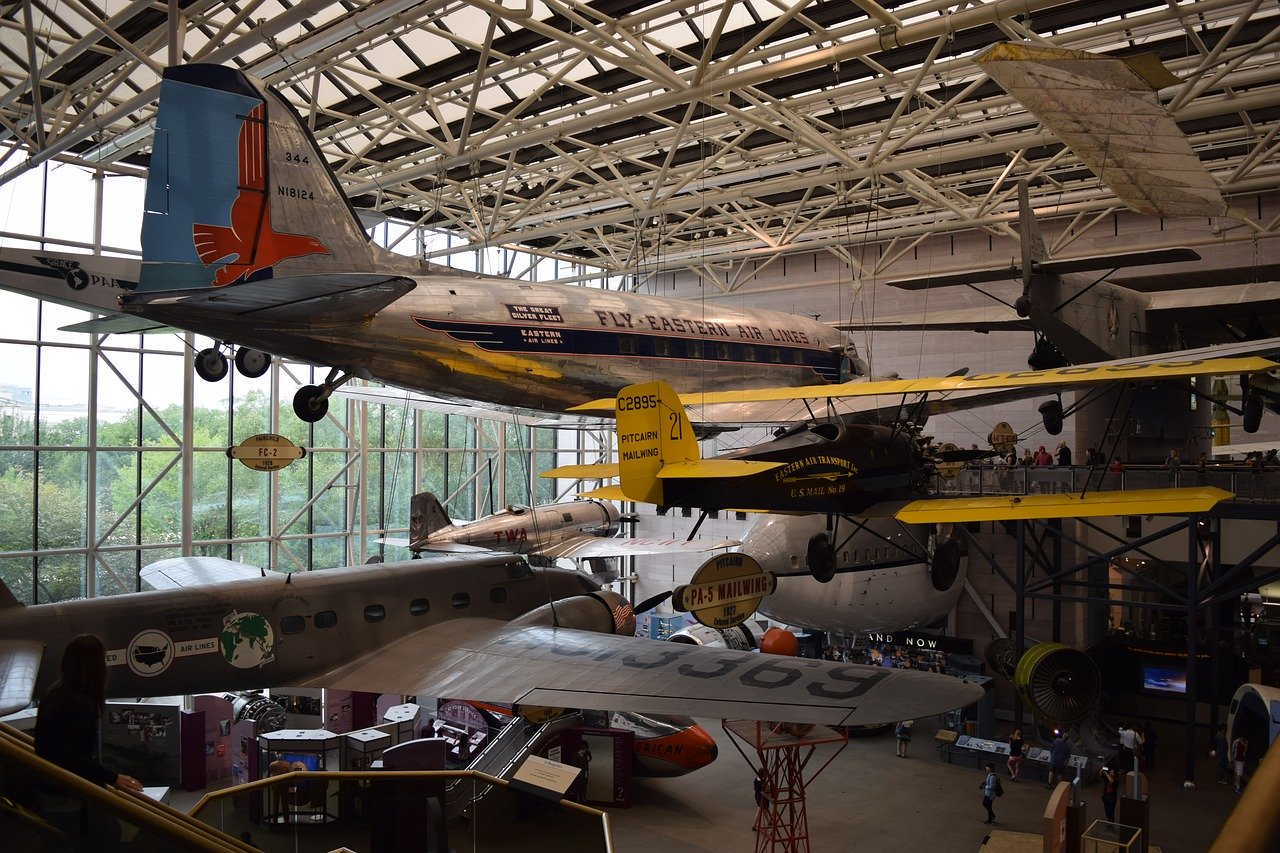 Smithsonian National Air and Space Museum is one of the best museums to visit in Washington DC