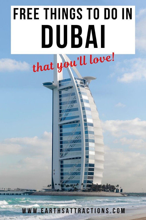 Free things to do in Dubai that you'll love! Read this guide to Dubai on a budget and discover the list of the best places to visit in Dubai for free. Save money with these recommendations of free things to see in Dubai, including the best free attractions in Dubai. #dubai #uae #dubaitips #traveltips #travelguides #budgetguide #earthsattractions #asia #asiatravel