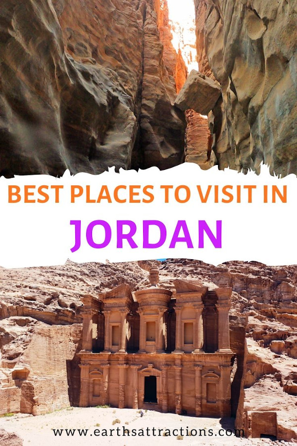 Discover the absolute best places to visit in Jordan on your next Jordan trip. This Jordan itinerary for 7 days shows you how to spend one week in Jordan and see the famous Jordan tourist attractions - Dead Sea, Wadi Rum, Petra, Kings Highway, and more. Create your Jordan bucketlist with this amazing itinerary for Jordan! #jordan #petra #jordanitinerary #deadsea #wadirum #amman #earthsattractions #traveltips #travelguides #itinerary