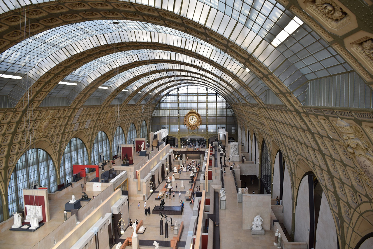 Musée d'Orsay - interior. What you should know before visiting the Orsay Museum in Paris, France