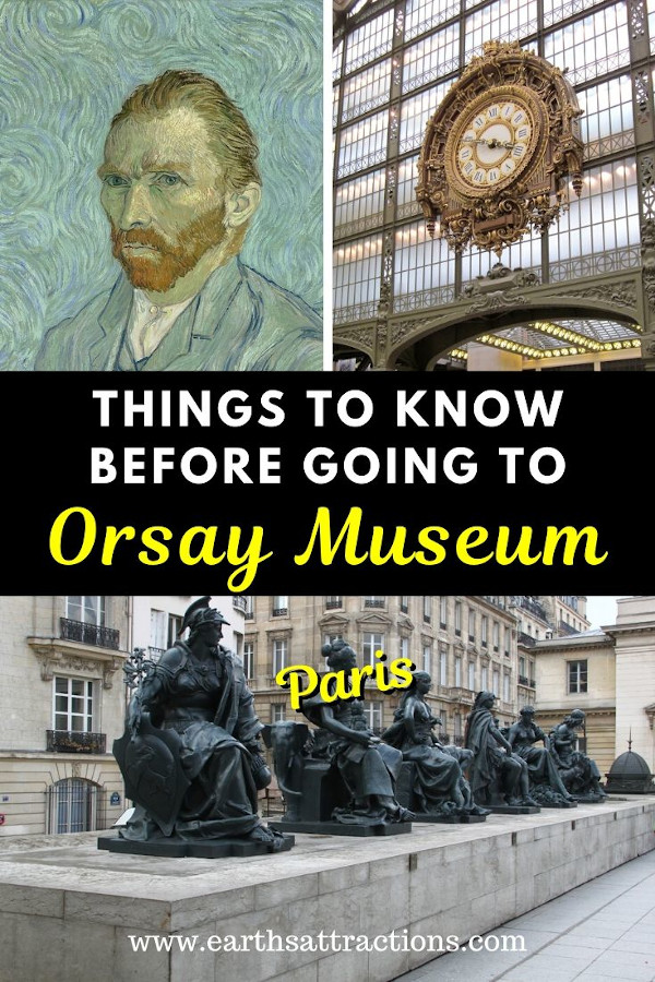 Incredibly useful things to know before going to the Orsay Museum. These are the best tips for visiting Musée d'Orsay, Paris, France. Find out how to save time and money at Musée d'Orsay and surprises that are waiting for you there from this article. #museedorsay #paris #paristips #orsay #orsaytips #traveltips #france #europe #museum #orsaymuseum #parismuseum #earthsattractions