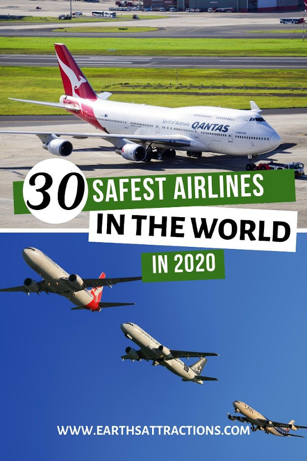 Safest airlines in the world right now. Bonus: safest budget airlines worldwide. Read the article now - and share it! #travel #travelsafety #safety #flying #study #travelstudy #airlines #qantas #earthsattractions