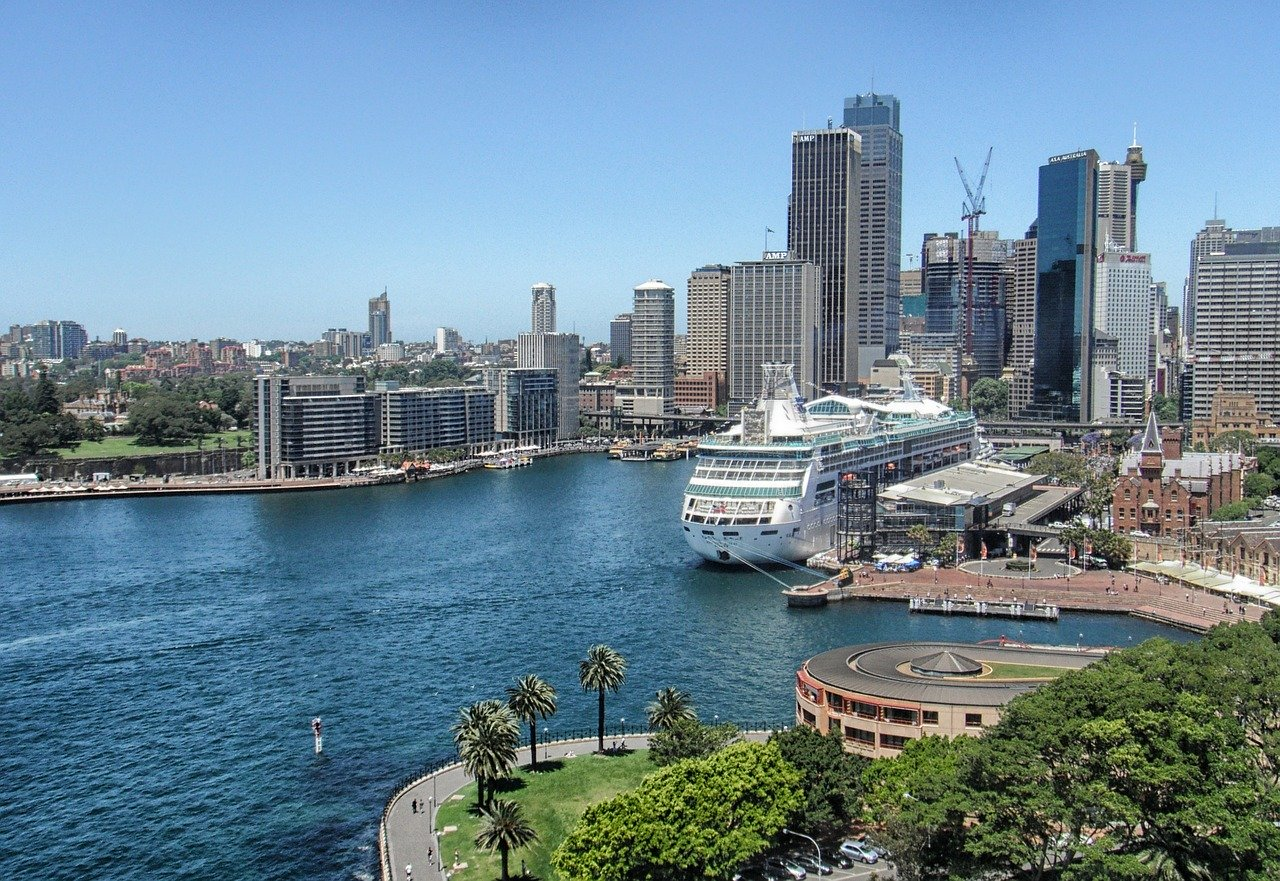 Sydney - port - holiday ideas for people with a fear of flying